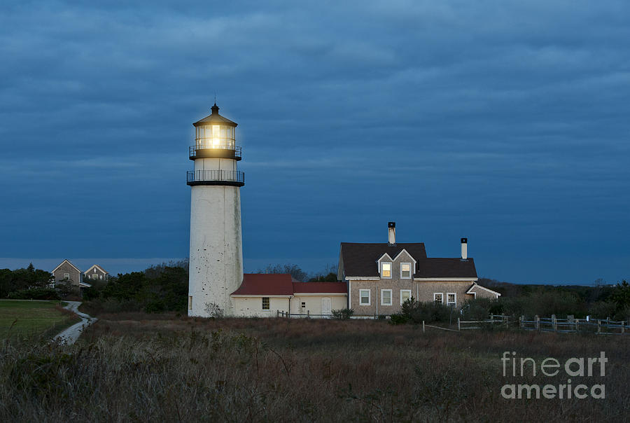 Highland Lighthouse Photograph  - Highland Lighthouse Fine Art Print
