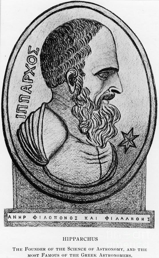 Hipparchus, Greek Astronomer Photograph