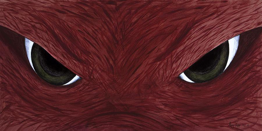 Hog Eyes Painting