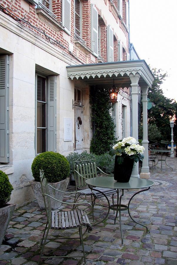 Honfleur Courtyard Photograph