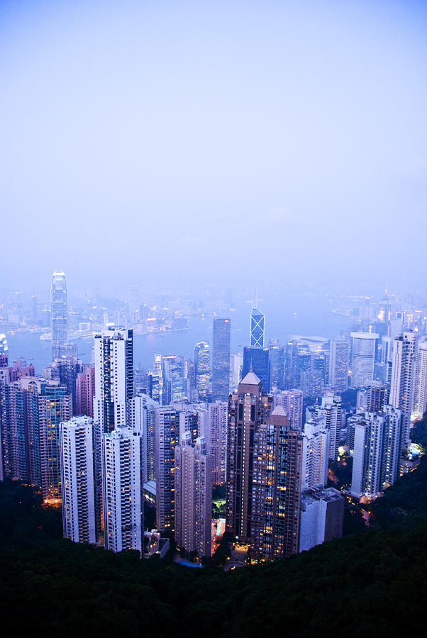 Hong Kong Skyline Photograph