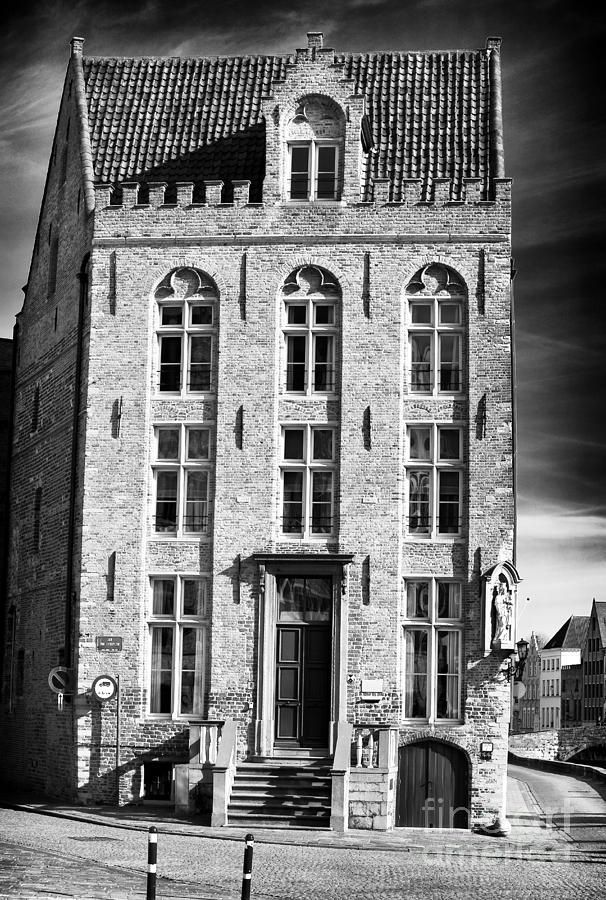 House On The Corner Photograph