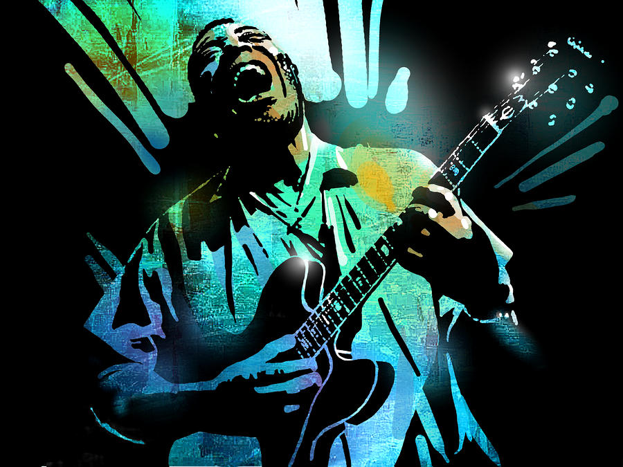 Howlin Wolf Painting