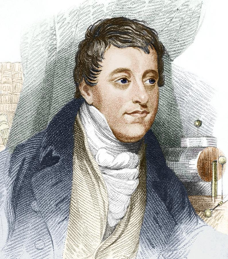 Humphry Davy, English Chemist Photograph  - Humphry Davy, English Chemist Fine Art Print