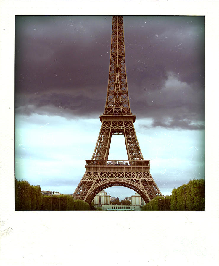 Attraction Photograph - Illustration Of Eiffel Tower by Bernard Jaubert