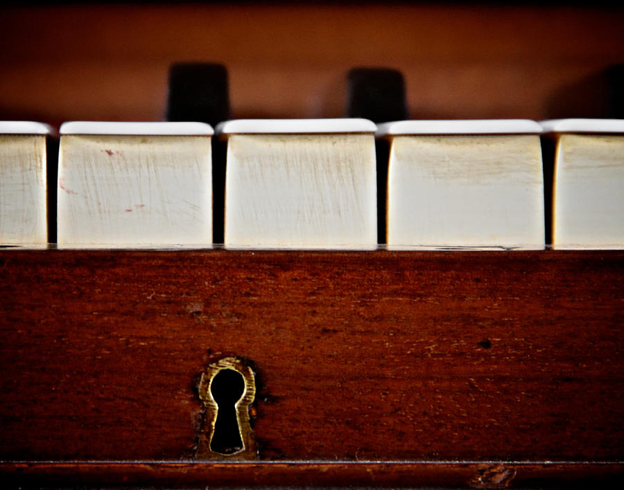 Piano Photograph - In The Key Of C by Odd Jeppesen