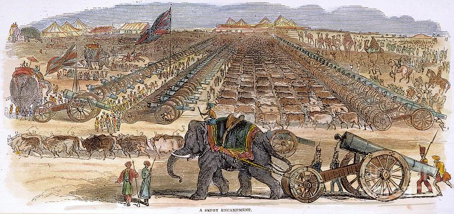 India: Sepoy Mutiny, 1857 Photograph
