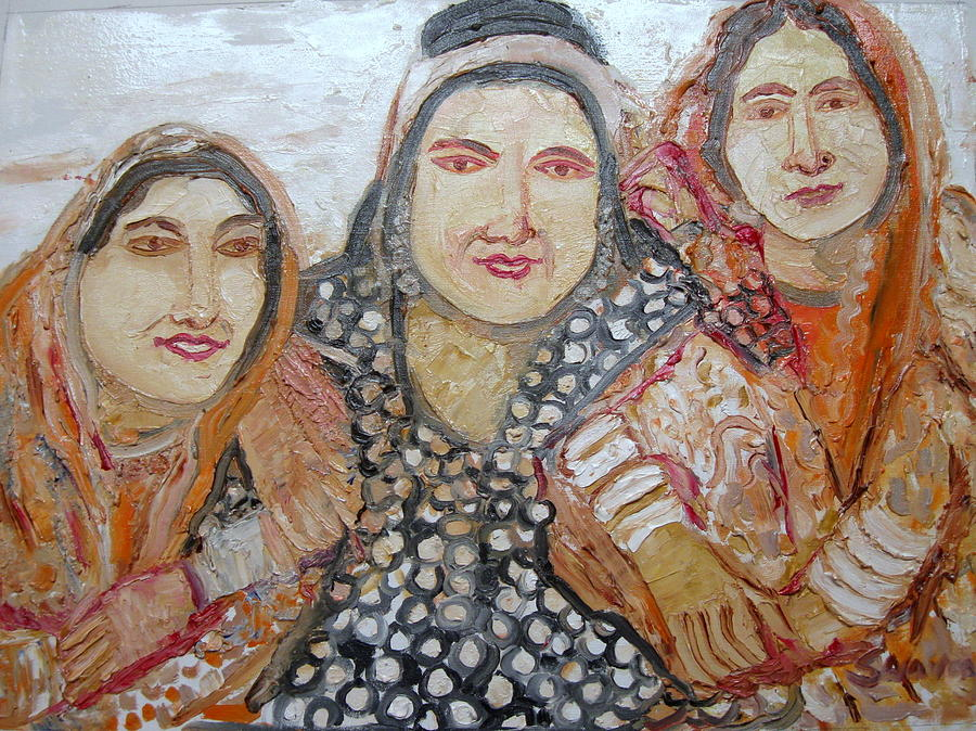 Indian Tribal Women Painting