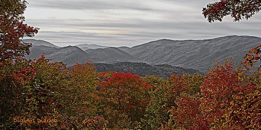 Infinite Smoky Mountains Digital Art
