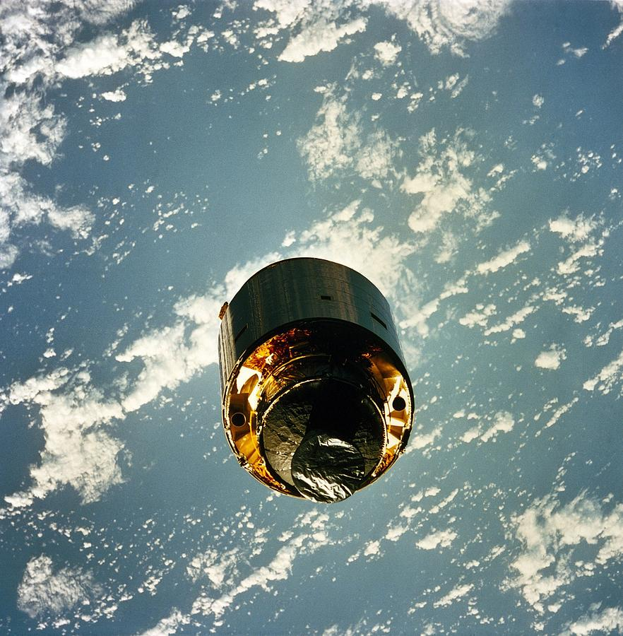 Intelsat Vi, A Communication Satellite Photograph  - Intelsat Vi, A Communication Satellite Fine Art Print