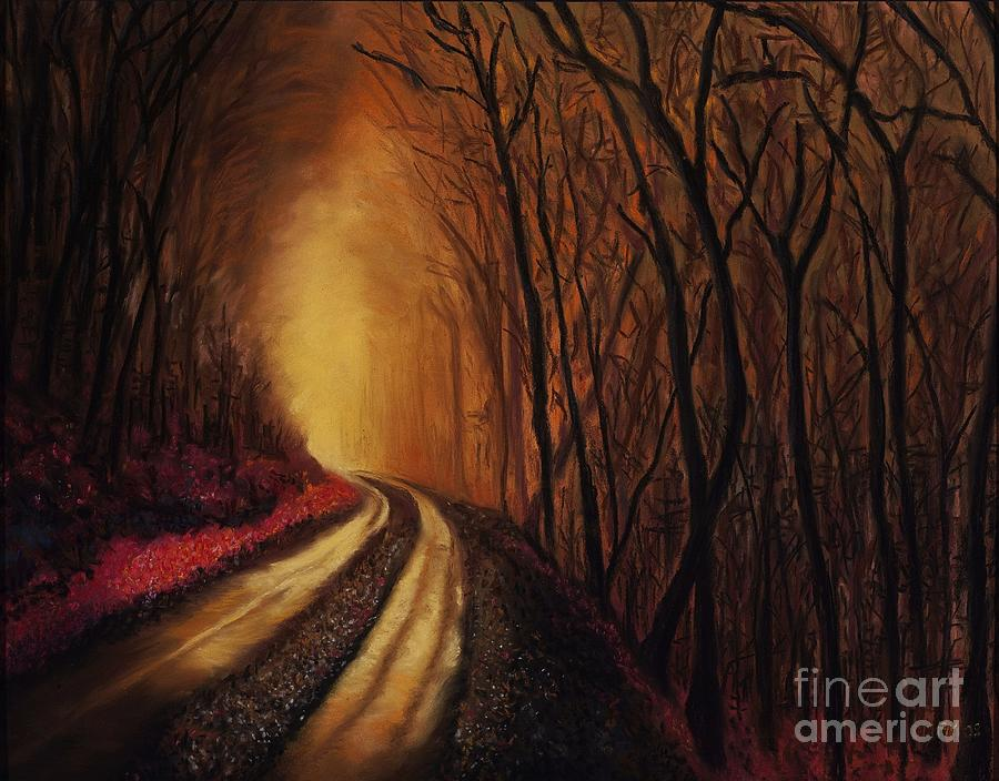 Into The Light Painting  - Into The Light Fine Art Print