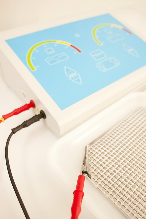 Studio Shot Photograph - Iontophoresis Equipment by