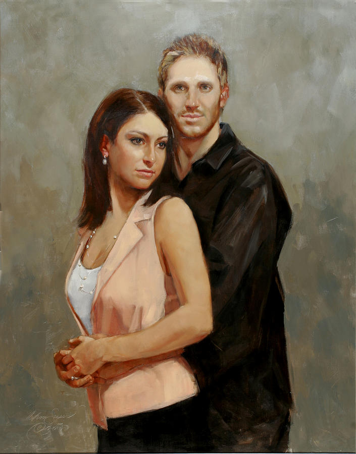 J And D Painting  - J And D Fine Art Print