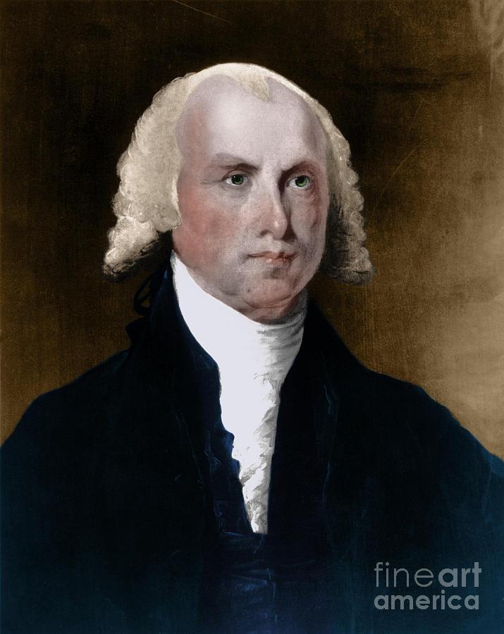 James Madison, 4th American President Photograph