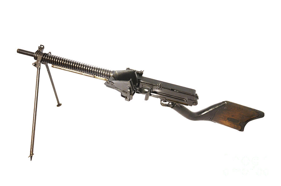 Japanese Type 11 Light Machine Gun Photograph