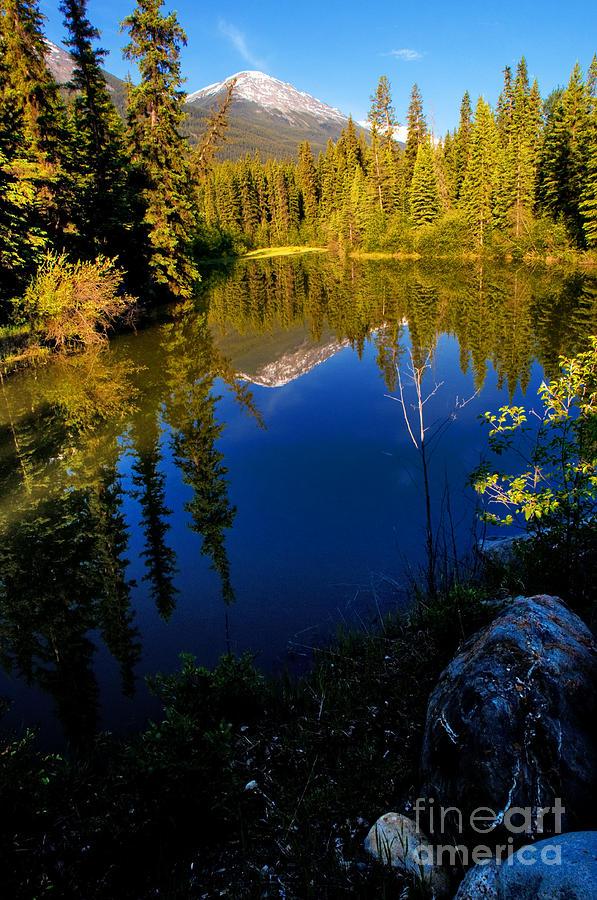 Miette River Photograph - Jasper - Miette River by Terry Elniski