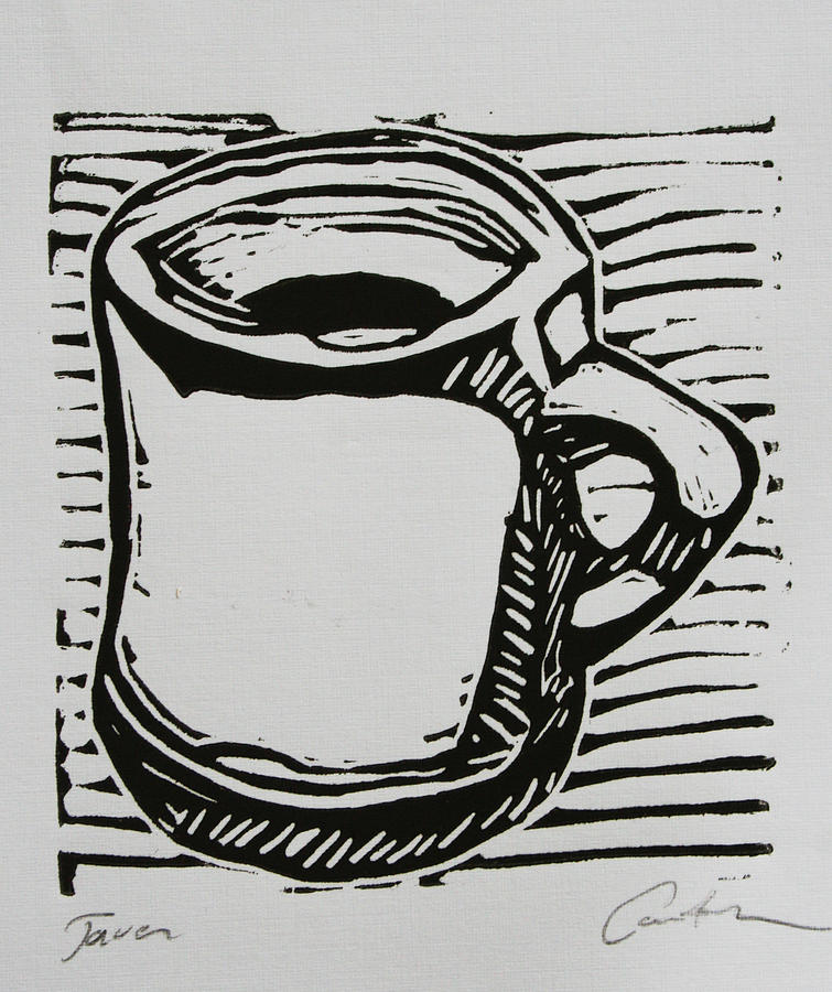 Java Drawing - Java by William Cauthern