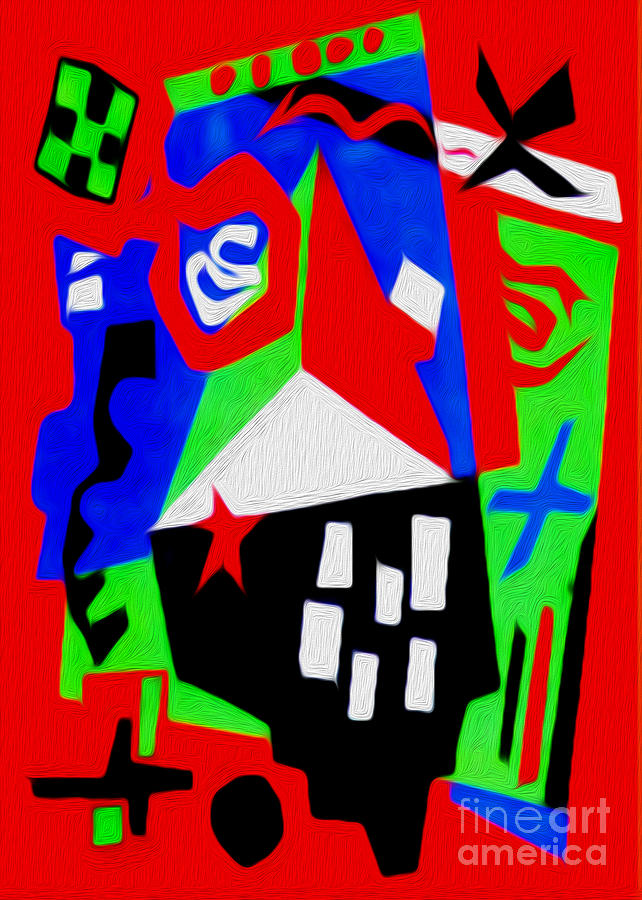 Abstract Painting - Jazz Art - 04 by Gregory Dyer