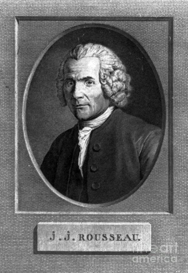 Jean-jacques Rousseau, Swiss Philosopher Photograph