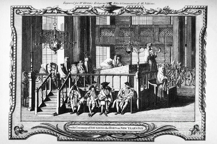 18th Century Photograph - Jewish Life, 18th Century by Granger