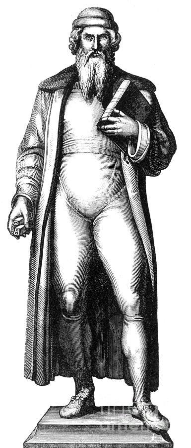 Johannes Gutenberg, German Inventor Photograph