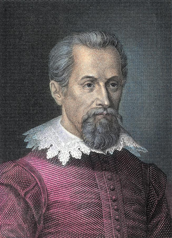 Johannes Kepler, German Astronomer Photograph