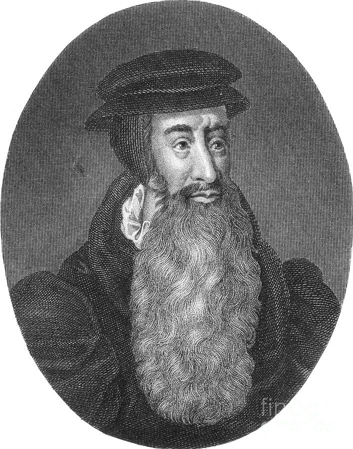 History Photograph - John Knox, Scottish Protestant by Photo Researchers