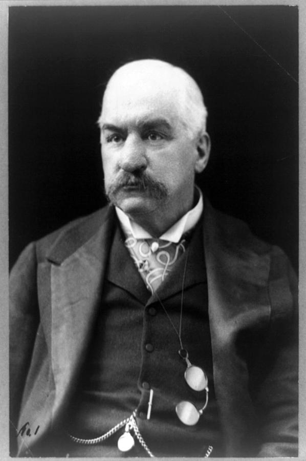 John Pierpont Morgan, Financierbanker Photograph  - John Pierpont Morgan, Financierbanker Fine Art Print