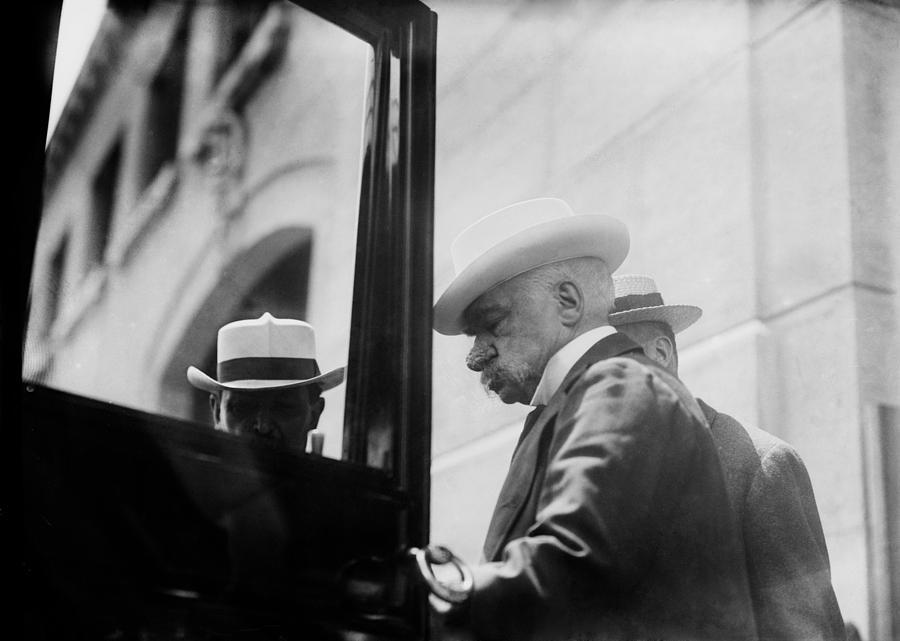 J.p. Morgan 1837-1913 American Banker Photograph