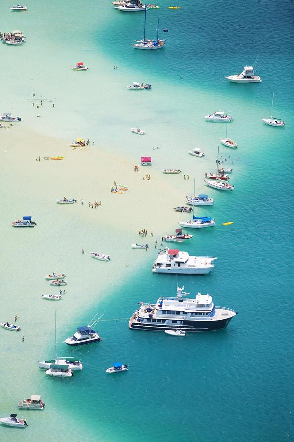 Kaneohe Bay, Boats Photograph