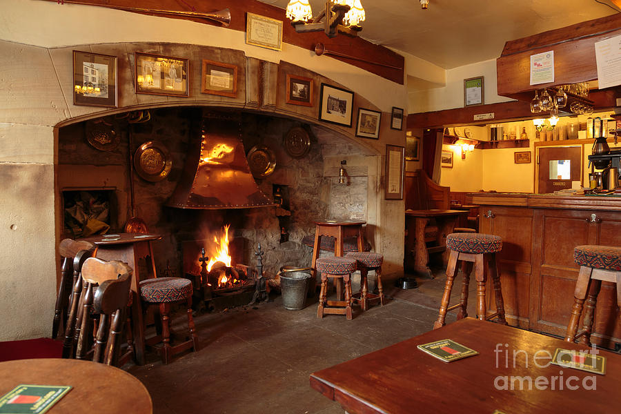Kings Head Pub Kettlewell Photograph  - Kings Head Pub Kettlewell Fine Art Print