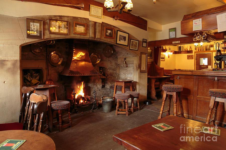 Kings Head Pub Kettlewell Photograph