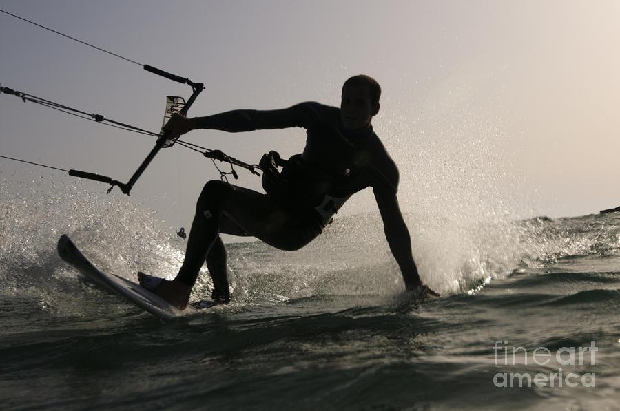 Kitesurfing Board Photograph