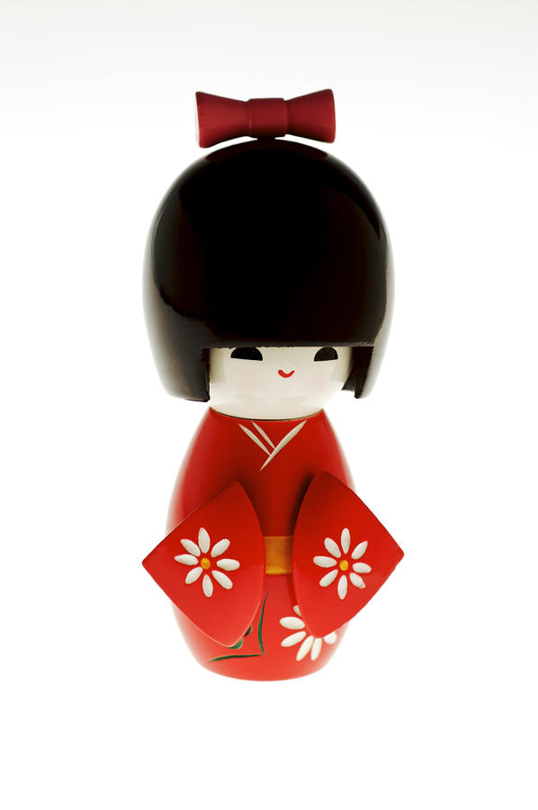 Kokeshi Doll Photograph