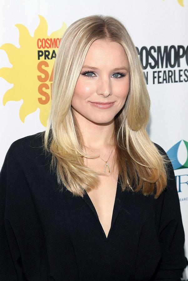 Kristen Bell At Arrivals For Cosmos Photograph  - Kristen Bell At Arrivals For Cosmos Fine Art Print