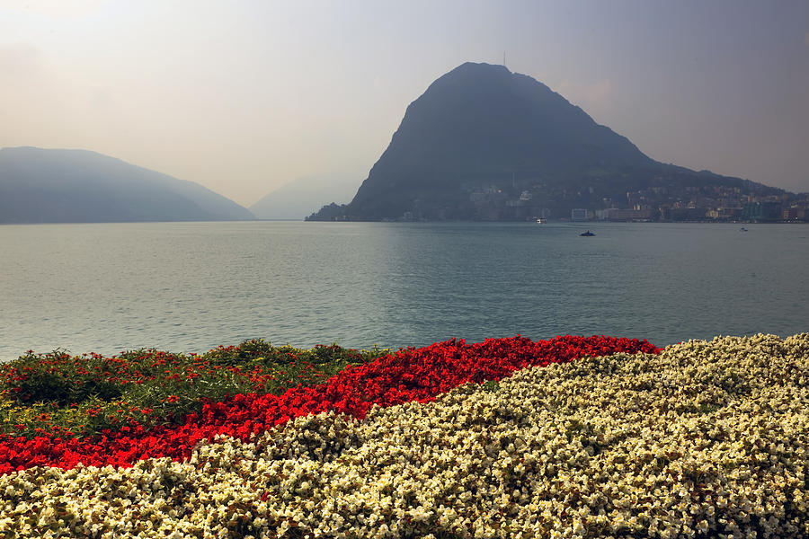 Lake Lugano - Monte Salvatore Photograph  - Lake Lugano - Monte Salvatore Fine Art Print