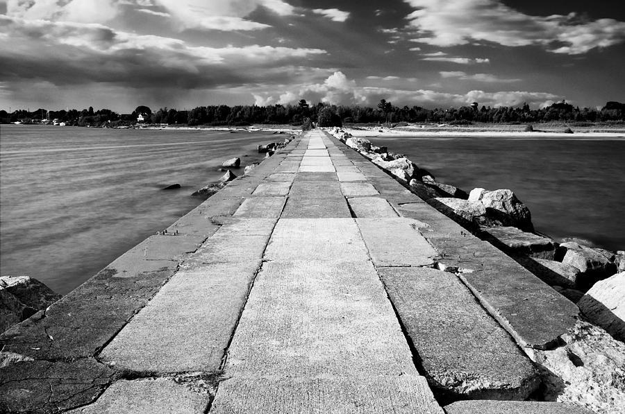 Lake Michigan Photograph - Lake Michigan Jetty by Tanya Harrison