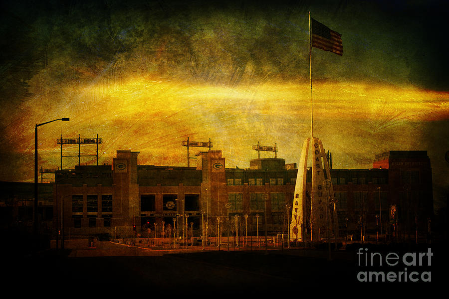 Lambeau Field Photograph - Lambeau Field by Joel Witmeyer