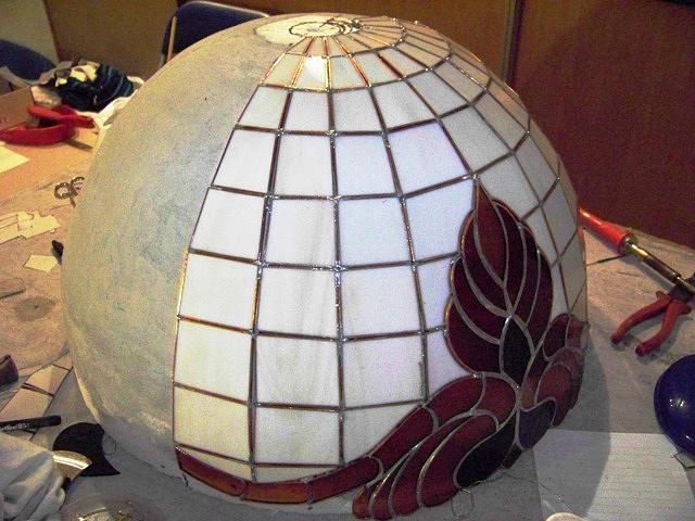 Lamp Glass Art