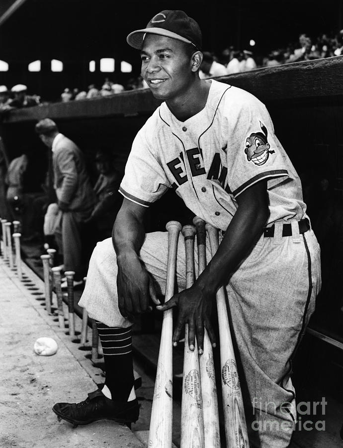 Larry Doby (1923-2003) Photograph