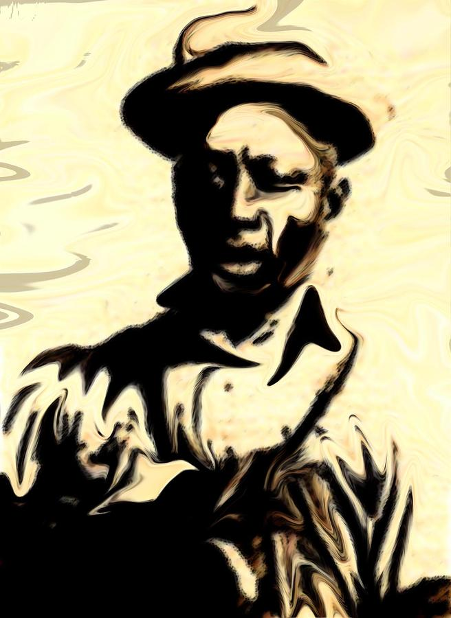 Lead Belly Painting  - Lead Belly Fine Art Print