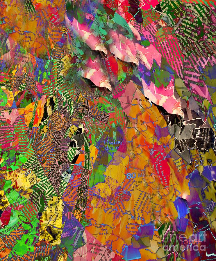 Leaves IIi Mixed Media