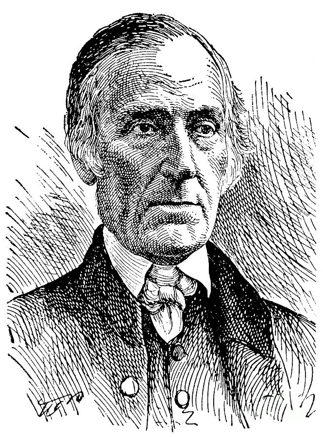Levi Coffin (1798-1877) Photograph