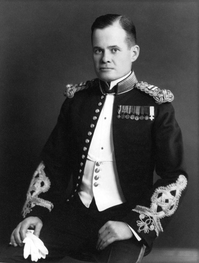 Lewis Chesty Puller Photograph  - Lewis Chesty Puller Fine Art Print