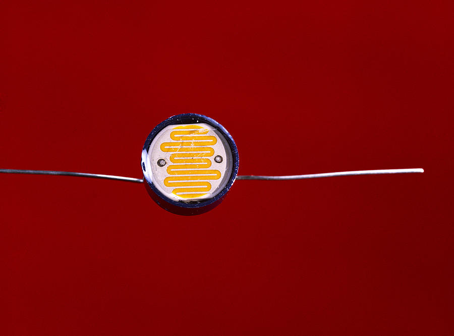 Light-dependent Resistor Photograph