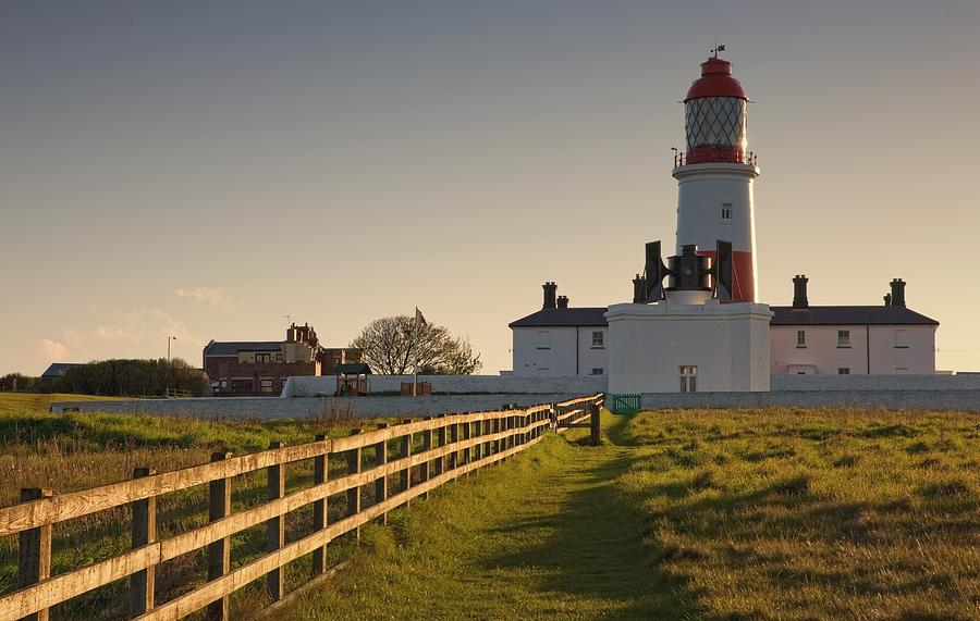 John Photograph - Lighthouse South Shields, Tyne And by John Short