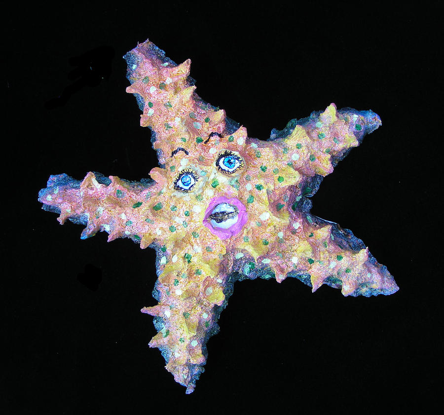 Lilly The Star Fish Sculpture