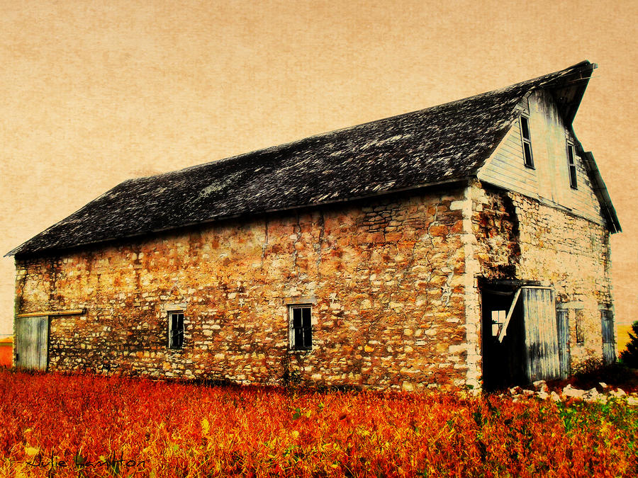 Lime Stone Barn Photograph  - Lime Stone Barn Fine Art Print