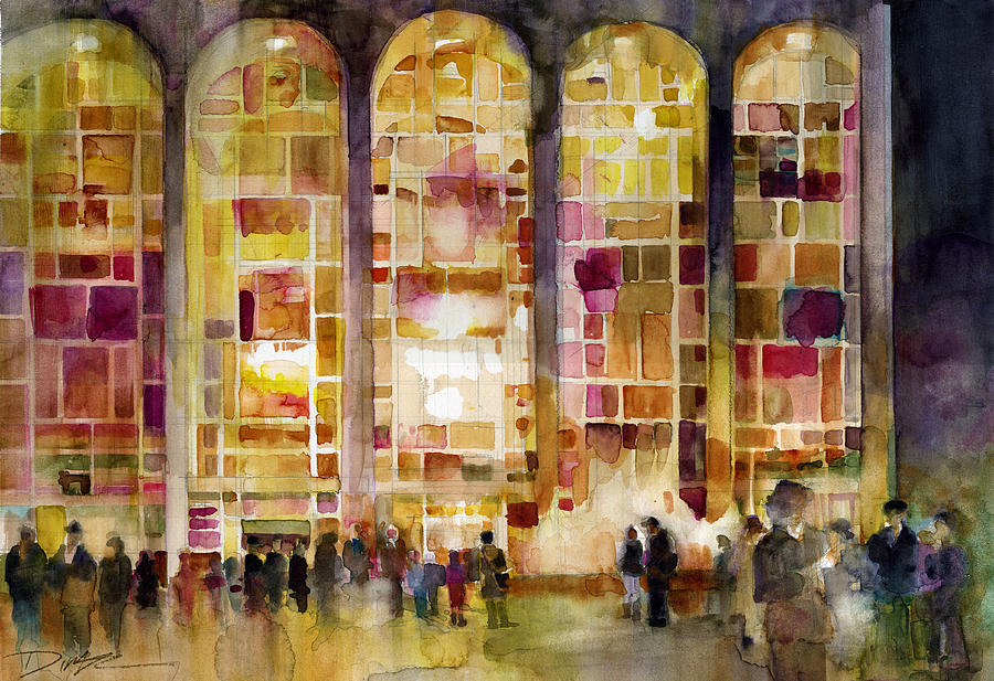 Lincoln Center Painting
