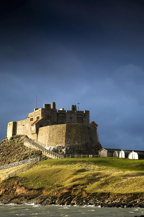 Lindisfarne Castle On A Volcanic Mound Photograph